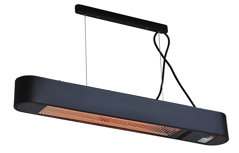 terrasverwarmer elegance zwart
